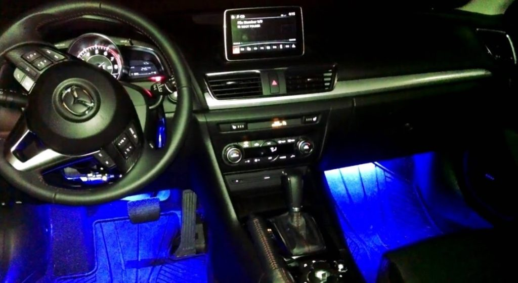 Interior Automotive Lighting Design